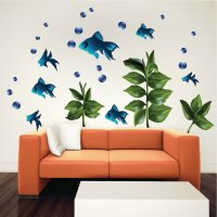 Kids Fish - Nursery Wall Decal Murals - Primedecals