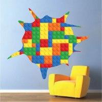 Toy Splatter Kids Wallpaper Decals - Lego Wall Decals ...