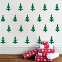 christmas tree wall decal | Roselawnlutheran