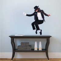 Michael Jackson Wall Mural Decal - Music Wall Stickers ...