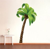 Palm Tree Wall Mural Decal - Large Wall Decal Murals ...