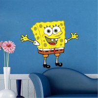 Spongebob Bedroom Decal Mural - Spongebob Wall Stickers ...