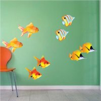 Fish Wall Decal - Animal Wall Decal Murals - Primedecals