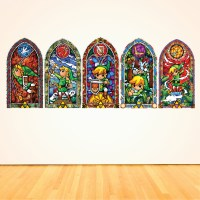 Zelda Stained Glass Wall Decal - Elitflat