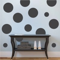 Dots Wall Decal - Circle Wall Decal Murals - Primedecals