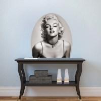 Marilyn Monroe Mural Decal - Hollywood Wall Decal Murals ...