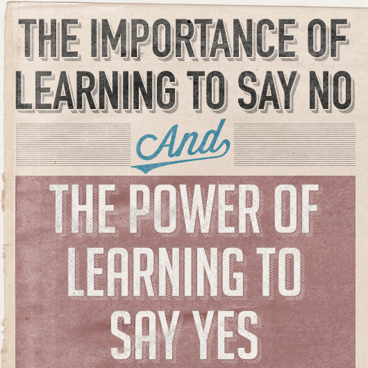 The Importance of Learning to Say No  The Power of Learning to Say