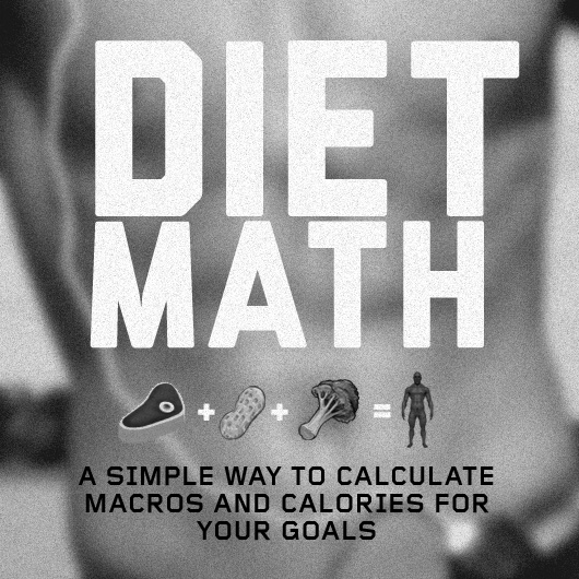Diet Math A Simple Way to Calculate Macros and Calories for Your