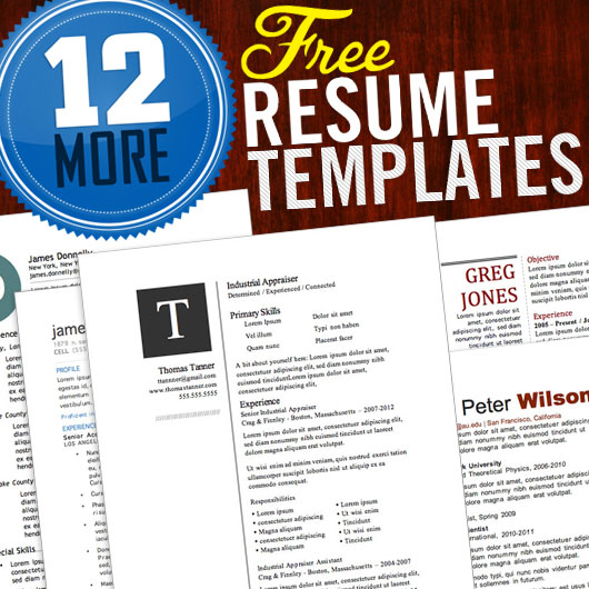 12 Resume Templates for Microsoft Word Free Download Primer - Totally Free Resume Templates
