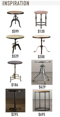 The Intentional Apartment: Make an Industrial Side Table ...