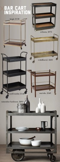 The gallery for --> Diy Bar Cart