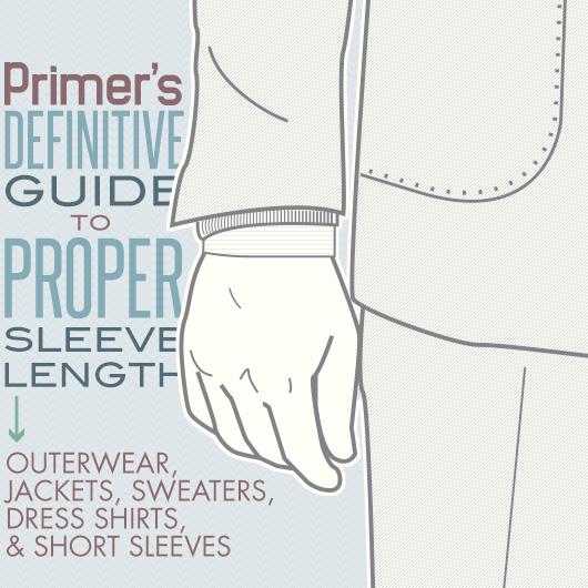 Primer\u0027s Guide to Proper Coat Sleeve Length