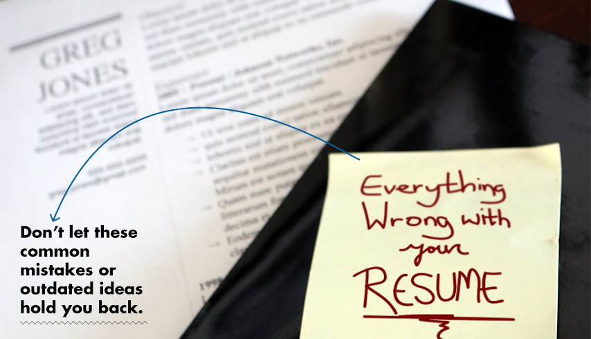 Everything Wrong with Your Resume Primer