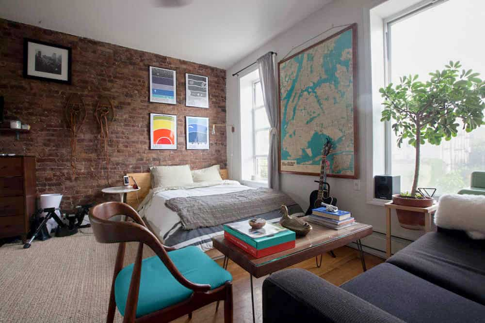 Best Live Wallpapers Iphone X Apartment Decorating Ideas A Brooklyn Bedroom