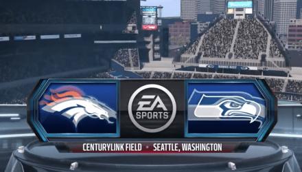 Madden Broncos vs Seahawks