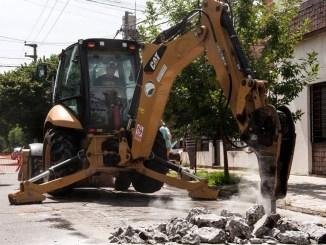 Obras públicas en Morón