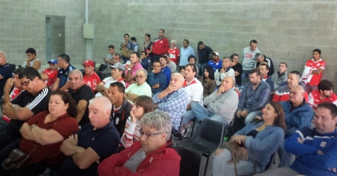 Asamblea en Deportivo Morón