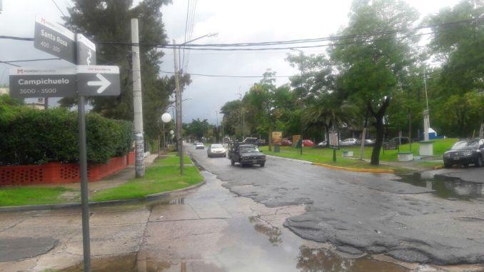 Reclamo por calle Santa Rosa
