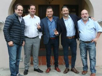 Reunión del intendentes en Moreno