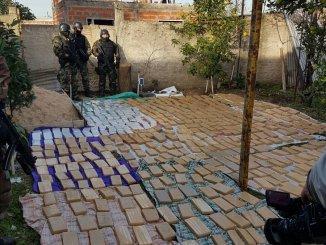 Secuestro de drogas en Morón