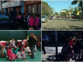 Amenazas de bomba en escuelas