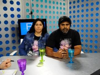 Mara Maidana y Beto Escalada