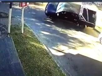 Choque de patrullero