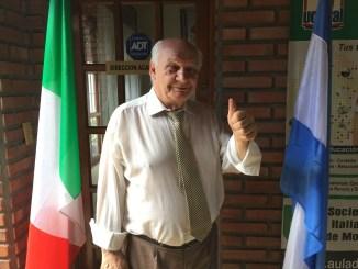 En positivo, Francesco Matina transita la recta final hacia las elecciones que pueden convertirlo en diputado italiano el próximo 4 de marzo.