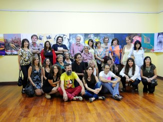 Muestra artística en Hurlingham