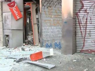 Explotó cajero en Ramos Mejía
