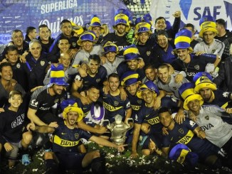 Boca Juniors, campeón de la Superliga 2017/2018.