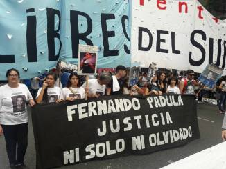 Justicia por Fernando Padula