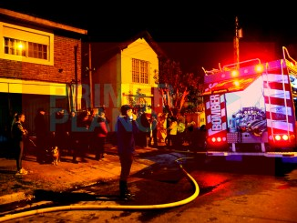Incendio en Hurlingham