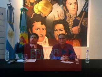 Axel Kicillof en Ituzaingó