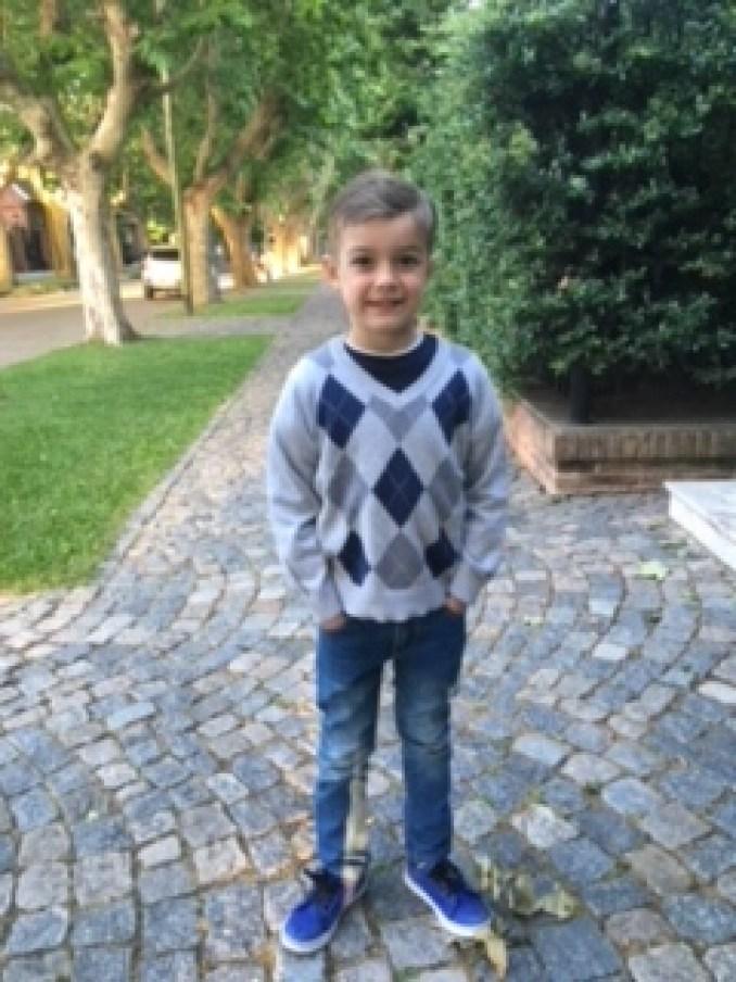Franco pasaba el verano junto a su hermana mayor y su papá en Costa Esmeralda, un balneario del Partido de La Costa.