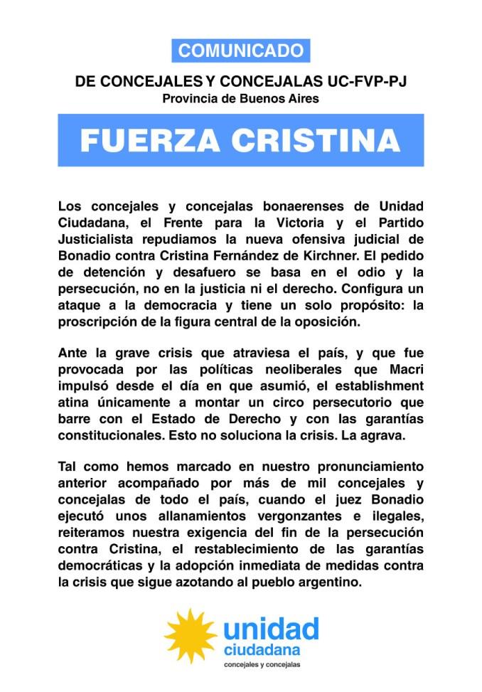 Fuerza Cristina