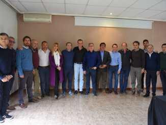 Alberto Descalzo fue anfitrión del encuentro que se llevó a cabo en el polideportivo La Torcaza de Ituzaingó