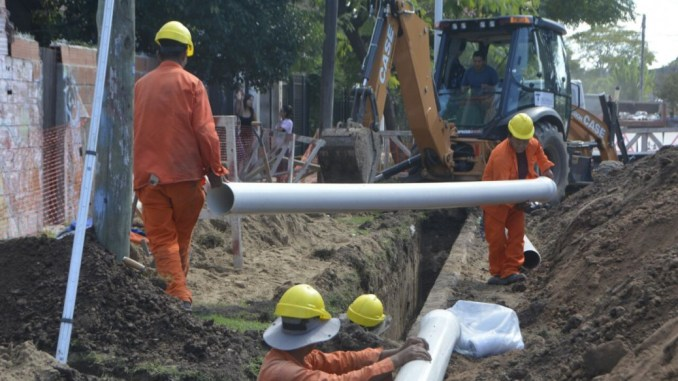 Parque Leloir y Villa Udaondo son las localidades donde ya se ejecutan dos nuevos frentes de obra