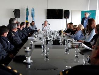 Festa reunió a comisarios y directores de escuelas
