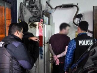 Detenidos por entraderas