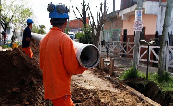 Los beneficiarios de la obra ya pueden conectare al servicio