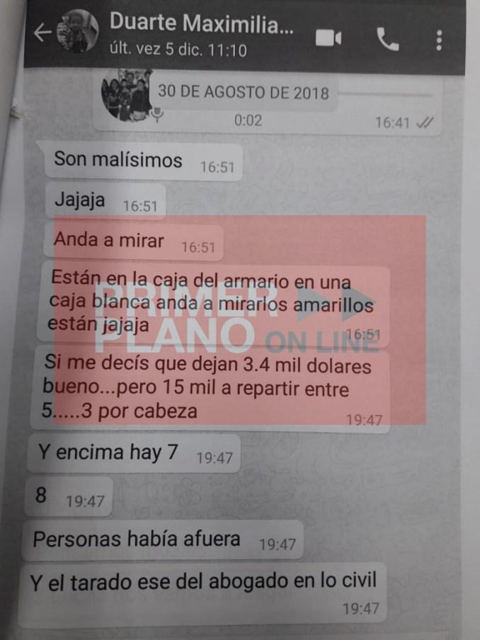 Secuestro de celulares