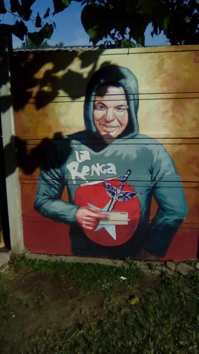 Martín Galarraga mural