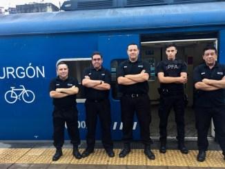 La prueba piloto es con cuatro equipos de cuatro empleados de Trenes Argentinos con apoyo de un Policía Federal