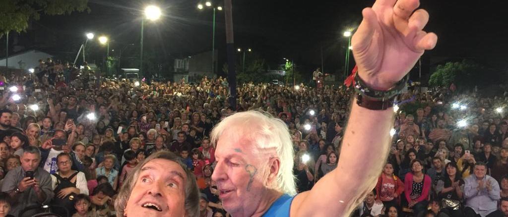 Carlitos Balá en Ituzaingó