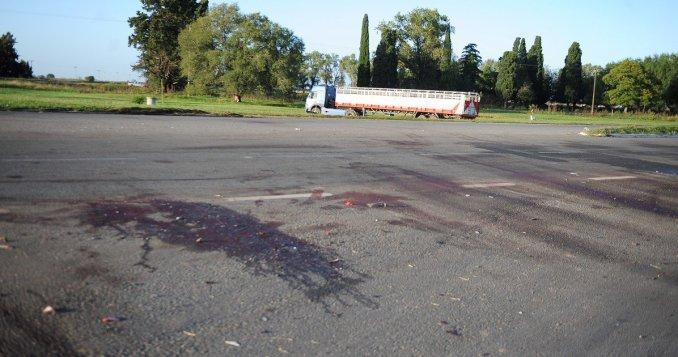Accidente en Areco