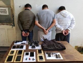Detenidos por robo al Banco Industrial de Santos Lugares