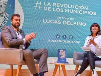 Lucas Delfino en Feria del Libro