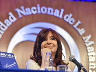 Cristina en La Matanza