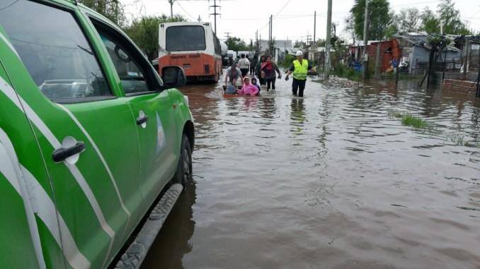 Inundaciones en La Matanza